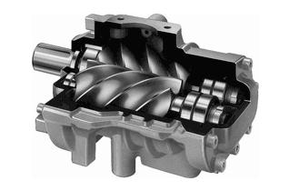 Винтовой блок - винтового компрессора