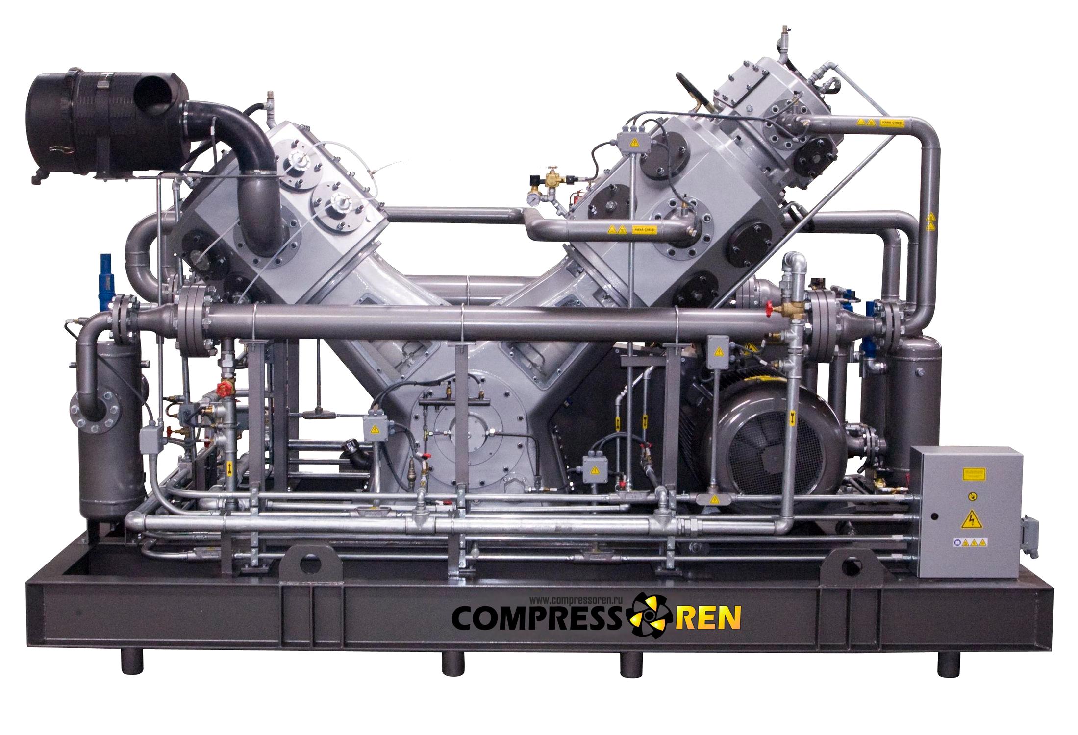 High-pressure-piston-compressor
